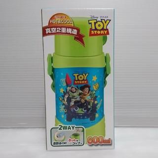 ディズニー(Disney)のベストコ ダブルステンレス 2WAYキッズボトル 600ml トイストーリー(水筒)