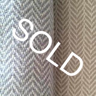 ムジルシリョウヒン(MUJI (無印良品))の無印良品 ウール100 ブランケット 毛布 マルチ ベッド カバー ヘリンボーン(毛布)