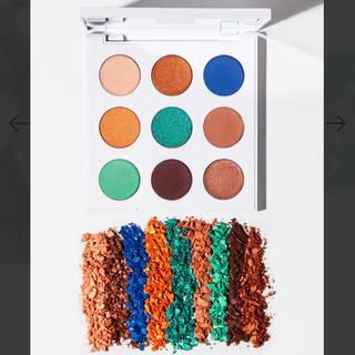 カラーポップ(colourpop)の一度使用【まとめ買い割引あり】colour pop 限定アイシャドウパレット(アイシャドウ)