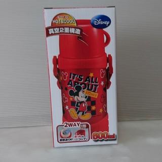 ディズニー(Disney)の新品 ダブルステンレス 2WAYキッズボトル 600ml ミッキーマウス(水筒)