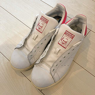 アディダス(adidas)の【兵庫発】adidas アディダス スタンスミス ピンク (紐なし)(スニーカー)