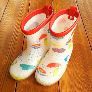 プチジャム(Petit jam)のプチジャム☆レインブーツ☆15cm☆ねこ☆傘☆花☆北欧☆長靴(長靴/レインシューズ)