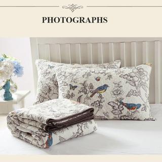 2way 寝具 ホテル仕様デザイン 枕カバー付き ベットカバー3点セット c6(ダブルベッド)