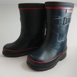 ヒロミチナカノ(HIROMICHI NAKANO)のhiromichi nakano 防寒 レインブーツ 15.0cm ネイビー(長靴/レインシューズ)