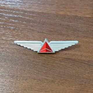 デルタ(DELTA)の【送料無料】デルタ航空 フライングバッチ(航空機)