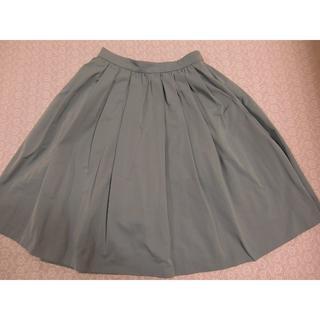 トッカ(TOCCA)のトッカ スターレットスカート ミントグリーン 4(ひざ丈スカート)