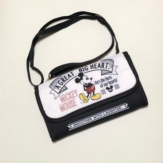 ディズニー(Disney)のDisney ミッキー ショルダーバッグ 財布(ショルダーバッグ)