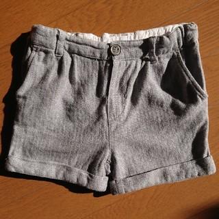 エイチアンドエイチ(H&H)のH&M ヘリンボーンショートパンツ 80~90cm(パンツ)
