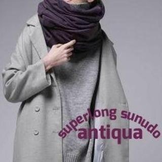 アンティカ(antiqua)のアンティカ antiqua 2wayスーパーロングスヌード 新品(スヌード)