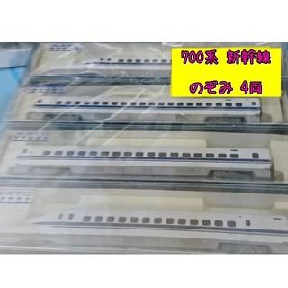 カトー(KATO`)のKATO 700系 新幹線 のぞみ 4両セット  鉄道模型 電車 プラモデル(鉄道模型)