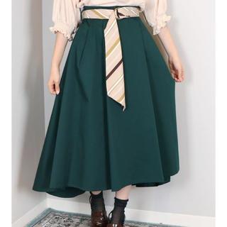 【新品未使用】スカーフベルトスカート