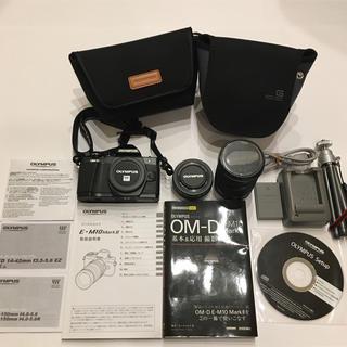 OLYMPUS - 迅速発送 OLYMPUS OM-D E-M10 MarkII ダブルズーム 美品