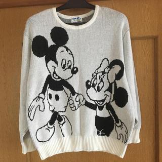 ディズニー(Disney)のDisney ❤️ミッキー&ミニー❤️セーター❤️美品❣️(ニット/セーター)