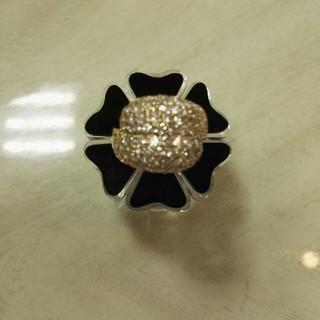 100万のK18ダイヤリング(リング(指輪))