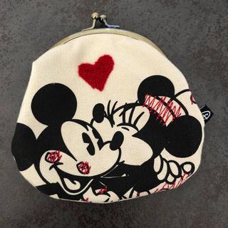 ディズニー(Disney)のディズニー♡ミッキー&ミニー がま口財布(コインケース)
