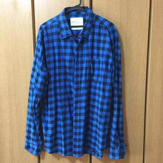 エアロポステール(AEROPOSTALE)の青いチェックのシャツ(シャツ)