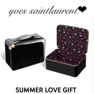 イヴサンローランボーテ(Yves Saint Laurent Beaute)の専用新品未使用 バニティポーチ(ポーチ)