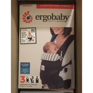 エルゴベビー(Ergobaby)のエルゴ アダプト アドミラルブルー 抱っこ紐 新品未開封(抱っこひも/おんぶひも)