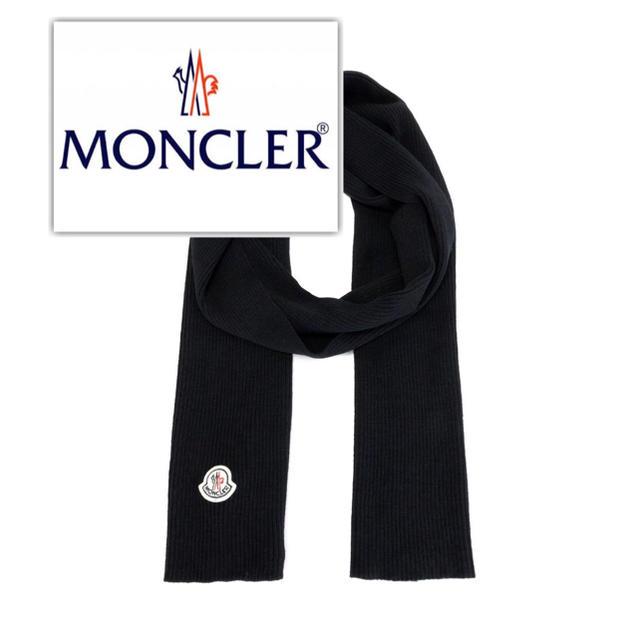 MONCLER(モンクレール)のmoncler ヴァージンウール マフラー メンズのファッション小物(マフラー)の商品写真
