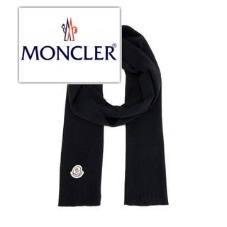 MONCLER - moncler ヴァージンウール マフラー
