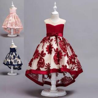 1a7df0141bb86 子供ドレス女の子ピアノ発表会 パーディー 演奏会 入園式 ワンピース(ドレス フォーマル