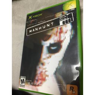 エックスボックス(Xbox)のXbox manhunt(家庭用ゲームソフト)