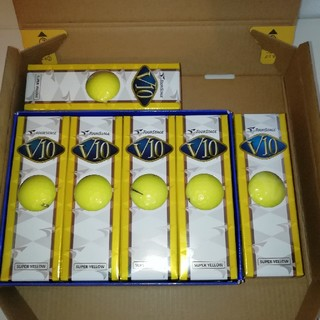 ブリヂストン(BRIDGESTONE)の未使用新品‼️ブリジストン ゴルフボール V10 6スリーブ(ゴルフ)