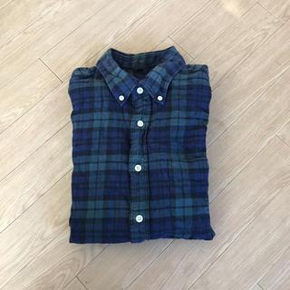 MUJI (無印良品) - 無印 ブラックウォッチシャツ