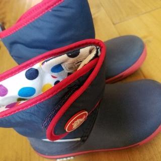 クロックス(crocs)のcrocs スノーブーツ 18.5㎝(長靴/レインシューズ)