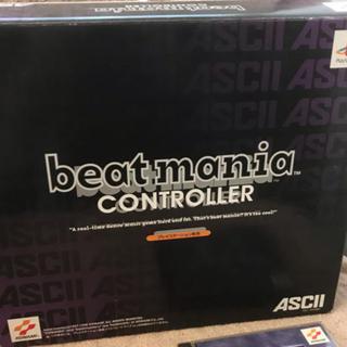 プレイステーション(PlayStation)のプレイステーション ビートマニアコントローラ 、ソフトセット売り。(家庭用ゲームソフト)