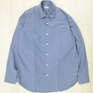 サイ(Scye)の新品 Scye ペルー綿タンボマチャイ ビッグシャツ サイズ40 スカイ(シャツ)