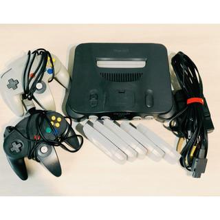NINTENDO 64 - 中古品‼️格安‼️【Nintendo 64】本体+カセット付