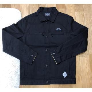 クライミー(CRIMIE)のCRIME ジャケット ブラック XL(Gジャン/デニムジャケット)