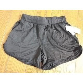 ジーユー(GU)のGU ランニング ショートパンツ ヨガ トレーニング 新品タグつき ブラック (ショートパンツ)