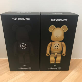 FRAGMENT - BE@RBRICK 400% THE CONVENI fragment 2体