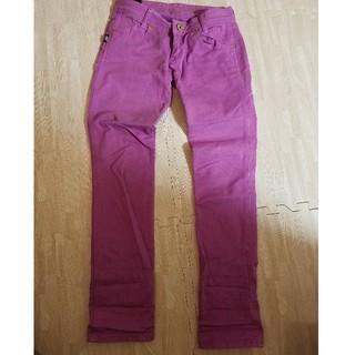 フィフティーファイブディーエスエル(55DSL)の55DSL カラーパンツ ピンク 紫(デニム/ジーンズ)