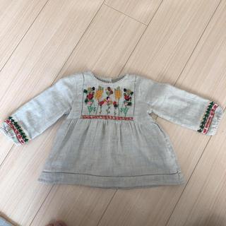Zara Baby 刺繍ブラウス