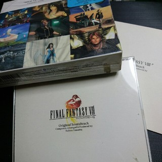 スクウェアエニックス(SQUARE ENIX)のファイナルファンタジー8 オリジナルサウンドトラック 4枚組 送料込み(ゲーム音楽)
