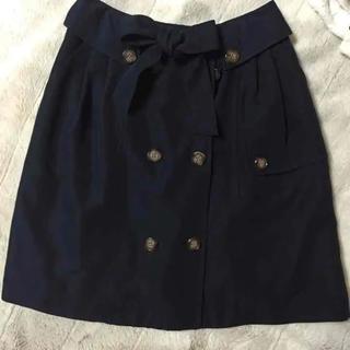 アールユー(RU)のトレンチスカート♡美品(ひざ丈スカート)
