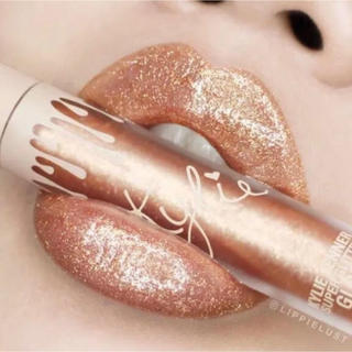 カイリーコスメティックス(Kylie Cosmetics)の限定 カイリー リップ グロス ゴールド グラマー(リップグロス)