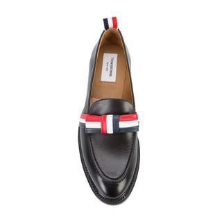 トムブラウン(THOM BROWNE)の最終!トム・ブラウン リボンディテール ローファー36.5(ローファー/革靴)