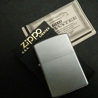 ジッポー(ZIPPO)のZIPPO Satin Chrome 205(タバコグッズ)