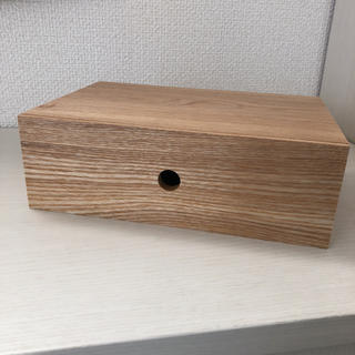 ムジルシリョウヒン(MUJI (無印良品))の無印良品 MDF小物収納1段 (ケース/ボックス)