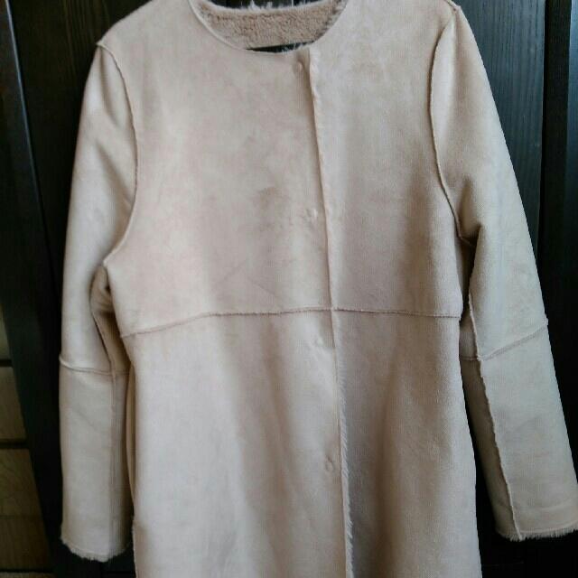 mysty woman(ミスティウーマン)のFran☆様専用!フェイクムートンリバーシブルコート レディースのジャケット/アウター(ムートンコート)の商品写真