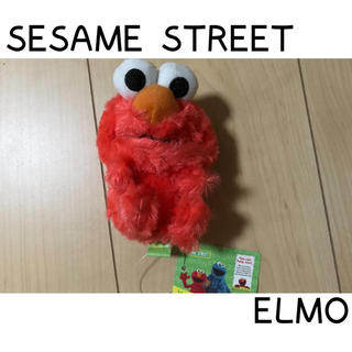 セサミストリート(SESAME STREET)の【新品未使用タグ付き】セサミストリート エルモ ぬいぐるみ キーホルダー(キーホルダー)