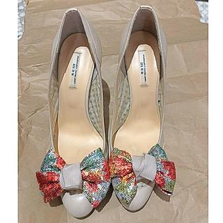 セヴントゥエルヴサーティ(VII XII XXX)の春靴✨  Ⅶ Ⅻ ⅩⅩⅩです♪(ハイヒール/パンプス)