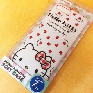 サンリオ - キティ iPhone8P/7Plus スマホケース SAN632A