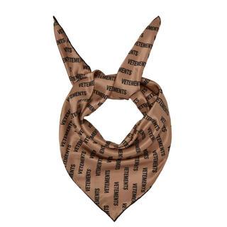 VETEMENTS ロゴ スカーフ(スカーフ)