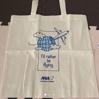 エーエヌエー(ゼンニッポンクウユ)(ANA(全日本空輸))のANAオリジナルエコバッグ&シール(エコバッグ)