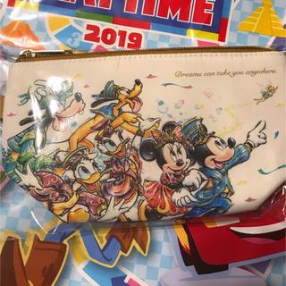 Disney - スーベニアポーチ ディズニー 35周年